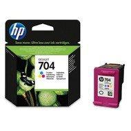 Tusz HP 704 do Deskjet Ink Advantage 2060   200 str.   CMY