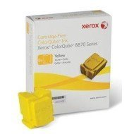 Kostki barwiące  Xerox  do  ColorQube 8870 | 17 300 str. | yellow
