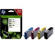 Zestaw czterech tuszy HP 364XL do C5380/6380 | CMYK