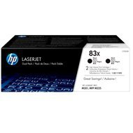 Toner HP 83X do LaserJet Pro M201/225 | 2x 2 200 str. | black