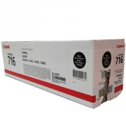 Toner  Canon CRG716BK  do LBP-5050,  MF-8030/8050 | 2 300 str. | black uszkodzon