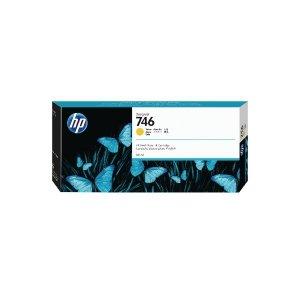 Tusz HP 746 do Designjet Z6/Z9 | 300ml | Yellow