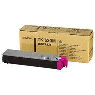 Toner Kyocera TK-520M do FS-C5015N | 4 000 str. | magenta