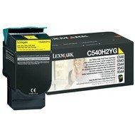 Kaseta z tonerem Lexmark do C-540/543/544/546 | zwrotny | 2 000 str | yellow