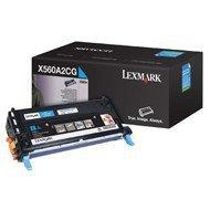 Kaseta z tonerem Lexmark do X560 | 4 000 str. | cyan
