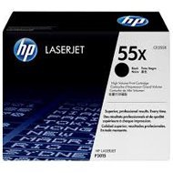 Toner HP 55X do LaserJet P3015, M525 | 12 500 str. | black
