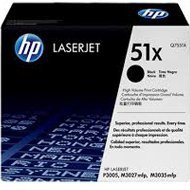 Zestaw dwóch tonerów HP 51X do LaserJet P3005, M3027 | 2 x 13 000 str. | black