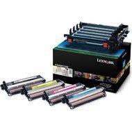 Zestaw czterech bębnów światłoczułych Lexmark do C540, X543 | 30 000 str. | CMYK