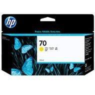 Tusz HP 70 Vivera do Designjet Z2100/3100/3200/5200 | 130 ml | yellow