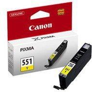 Tusz  Canon  CLI551Y do   iP-7250, MG-5450/6350 |  7ml |   yellow