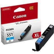 Tusz Canon CLI551CXL do iP-7250, MG-5450/6350 | 11ml |  cyan