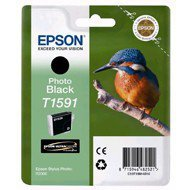 Tusz  Epson T1591  do  Stylus Photo  R2000 | 17ml |  photo  black