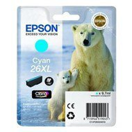 Tusz Epson  T2632  do XP-600/700/800 | 9,7ml |   cyan