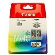 Zestaw  dwóch tuszy Canon  PG-40/CL-41  do  iP1600/2600 | CMY + K