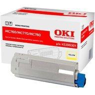 Toner Oki do MC-760/770/780   6 000 str.   yellow