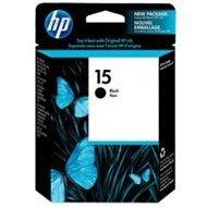 Tusz HP 15 do Deskjet 920/940, Officejet V30/40, PSC 750 | 500 str. | black