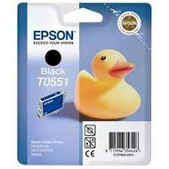 Tusz Epson T0551  do Stylus Photo  R-240/245, RX-425/520  | 8ml | black