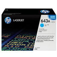 Toner HP 643A do Color LaserJet 4700 | 10 000 str. | cyan