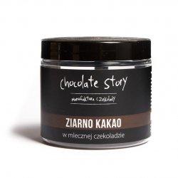 Ziarno kakao w mlecznej czekoladzie 44% - 120g