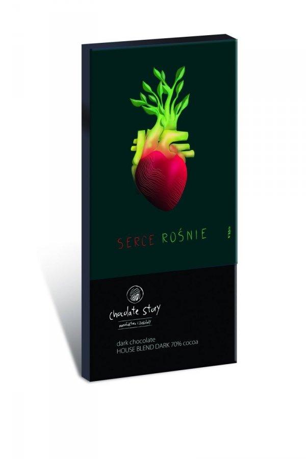 Serce Rośnie [House Blend Dark 70% kakao]