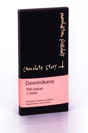 [70% kakao z Dominikany] + Imbir 55g