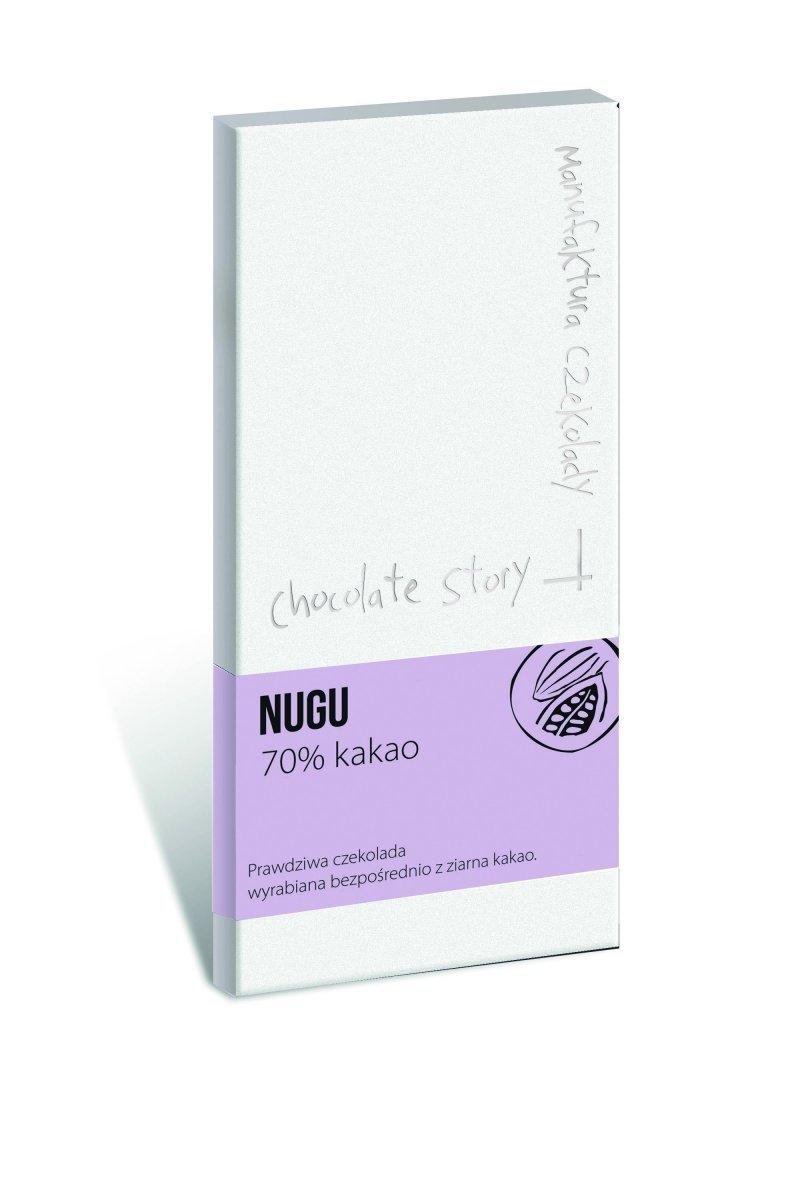 Czekolada NUGU 70% kakao