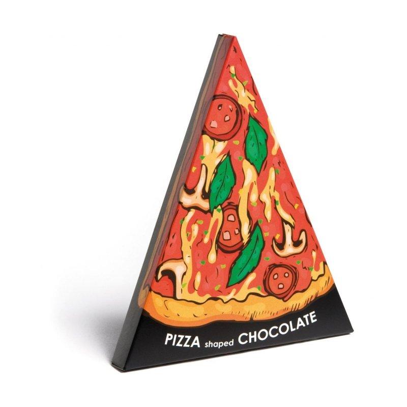 Czekolada w kształcie kawałka pizzy Pizza Shaped Chocolate