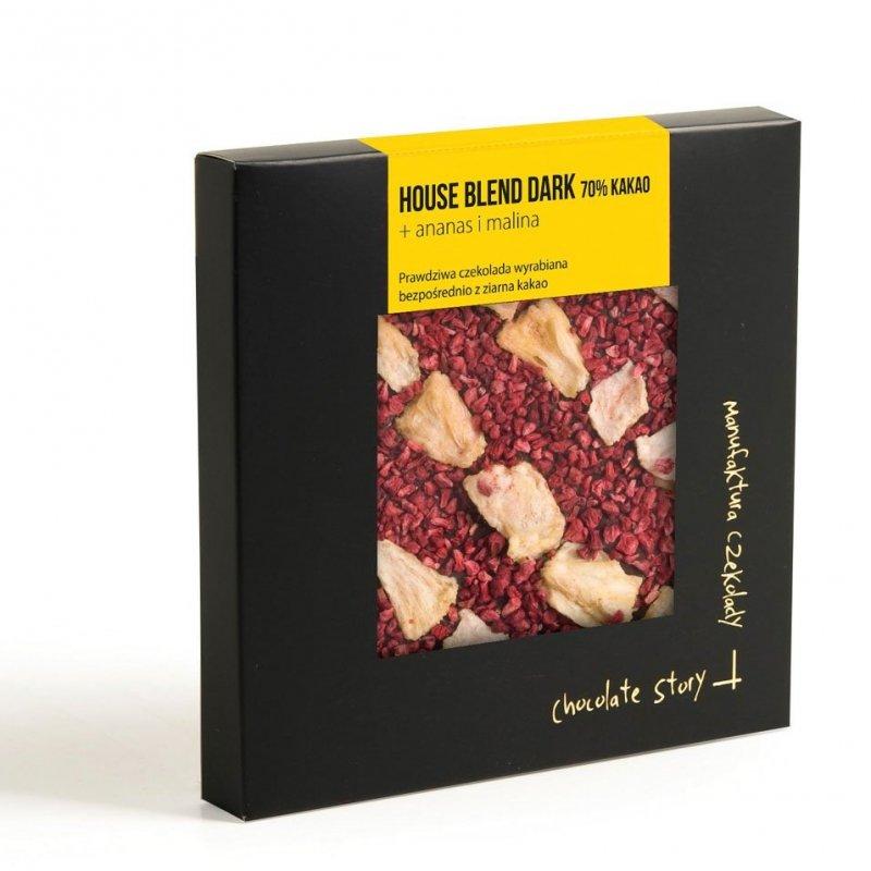 House Blend Dark 70% kakao + ananas i malina
