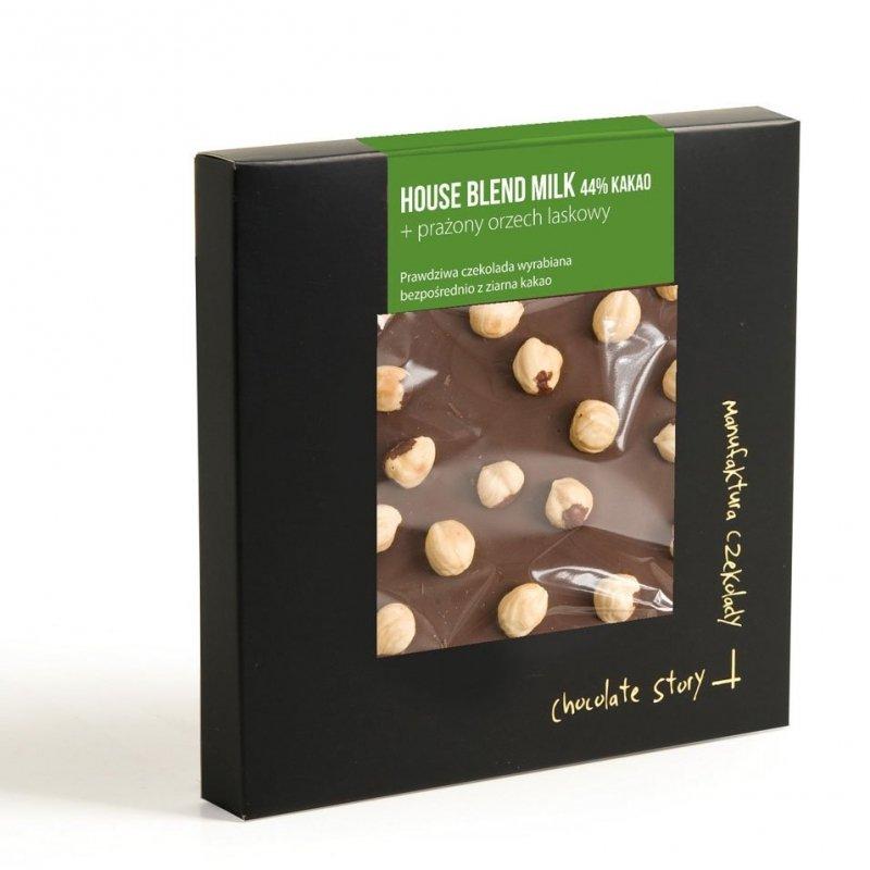 House Blend Milk 44% kakao + prażony orzech laskowy