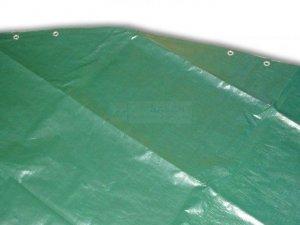Płachta kryjąca owalna 7,3 x 3,7 m SUPREMA