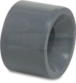 Redukcja krótka PVC KZ 75mm x  KW 63mm
