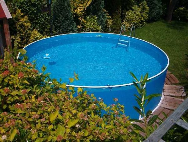 Folia niebieska 3,6 x 0,9m - 0,25mm