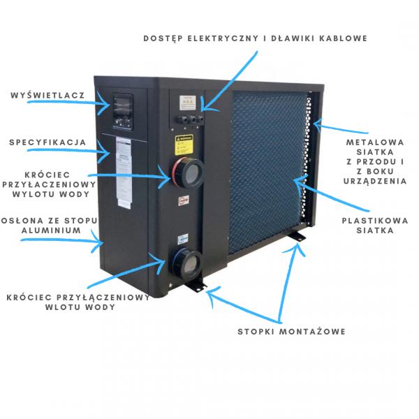 Pompa ciepła Fairland Rapid Inverter-Plus 13 kW IPHCR33