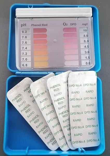 Tester na bezchlorową chemię O2