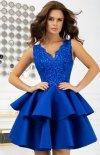 Rozkloszowana sukienka z pianką 2122-05