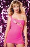 Seven'til Midnight Seamless Asymmertrical Dress sukienka