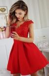 Bicotone 2139-02 sukienka czerwona