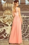 Maxi sukienka Lea Numoco 211-4  tył