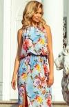 Długa sukienka w kwiaty Numoco 191-5_2