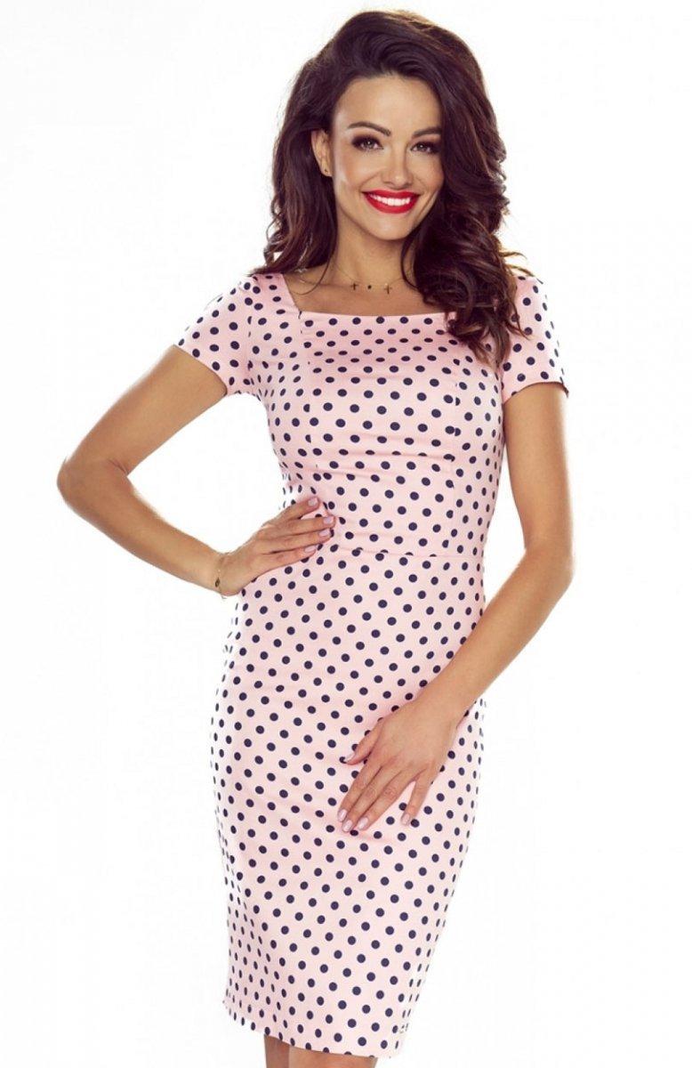 abd99873cb Bergamo Paula sukienka różowa - Sukienki ołówkowe - Sukienki ...