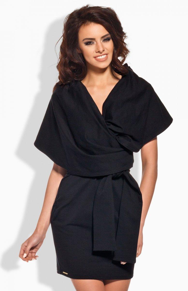 ad479b12107a27 Lemoniade L138 sukienka czarna - Sukienki na wesele - Modne sukienki ...