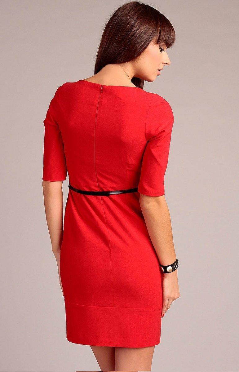 6d286ee318 Vera Fashion Marina sukienka czerwona - Sukienki wizytowe Vera ...