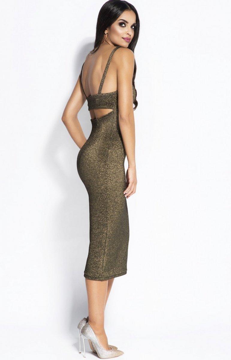 d3bfdf1305 Dursi Charme sukienka złota - Sukienki damskie Dursi - Modne ...