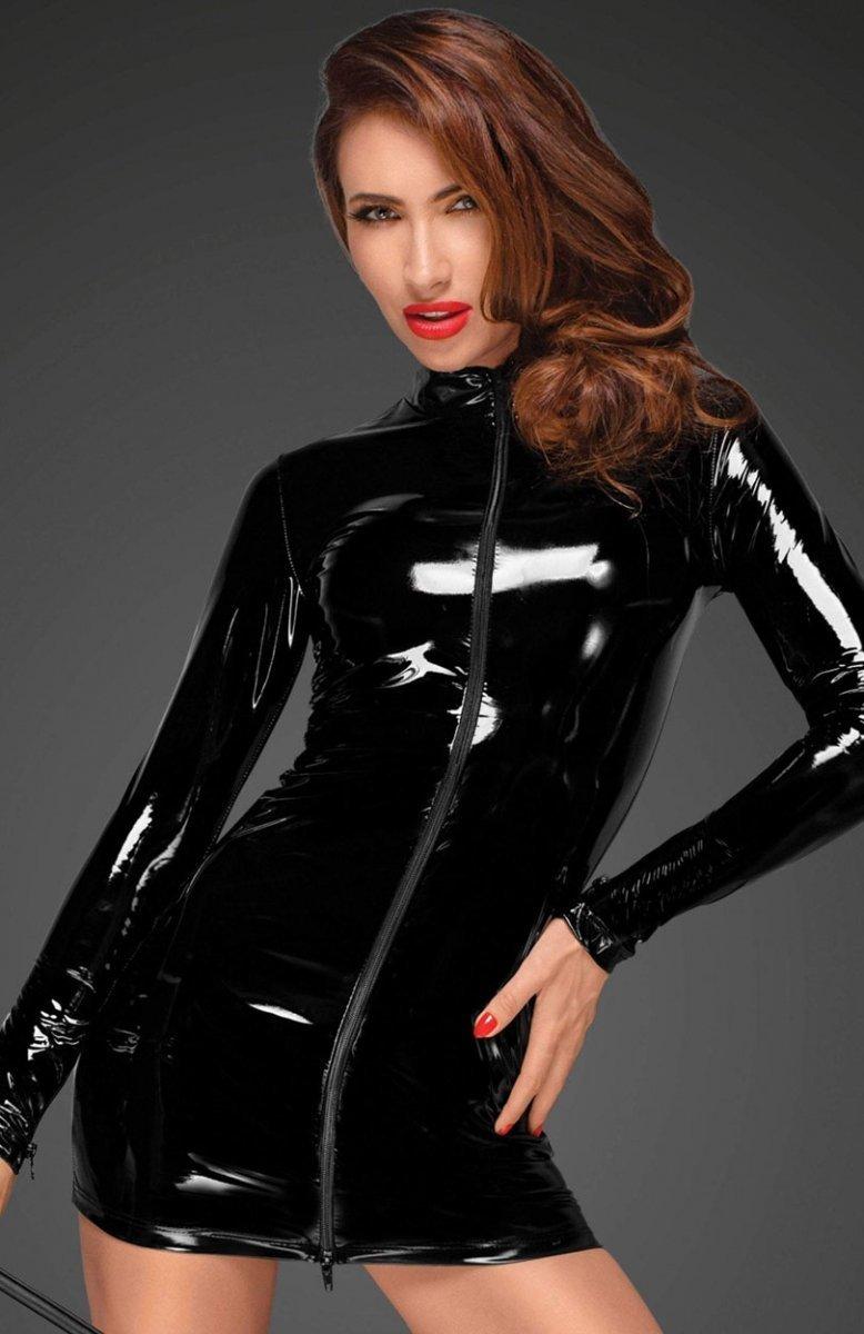 36ea665606 Noir F187 sukienka dopasowana - Sukienki erotyczne - Bielizna ...