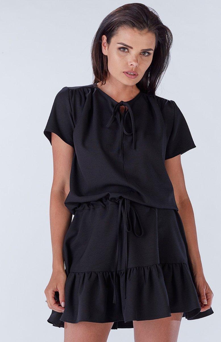 2ec7c8f4 Awama A180 sukienka czarna - Sukienki letnie 2017 - Sukienki na lato ...