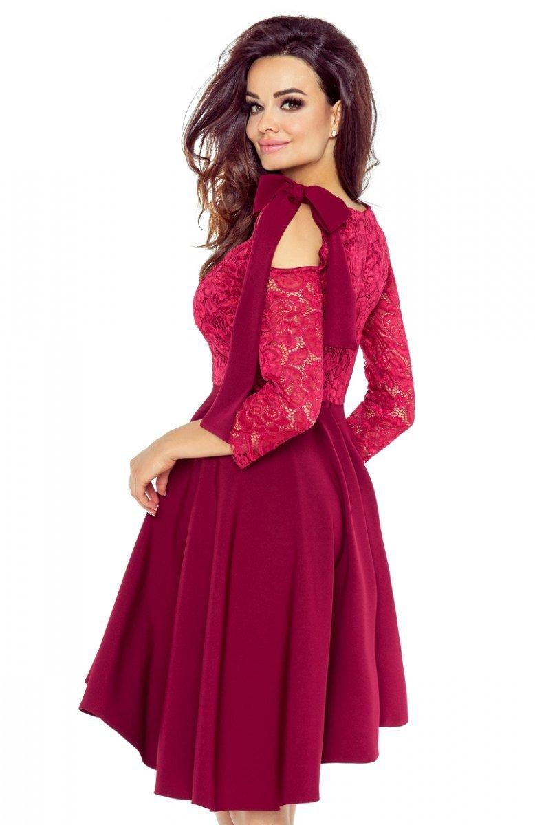 6f94c9ab99 Bergamo 78 04 Sukienka Bordowa Sukienki Na Studniówkę 2018