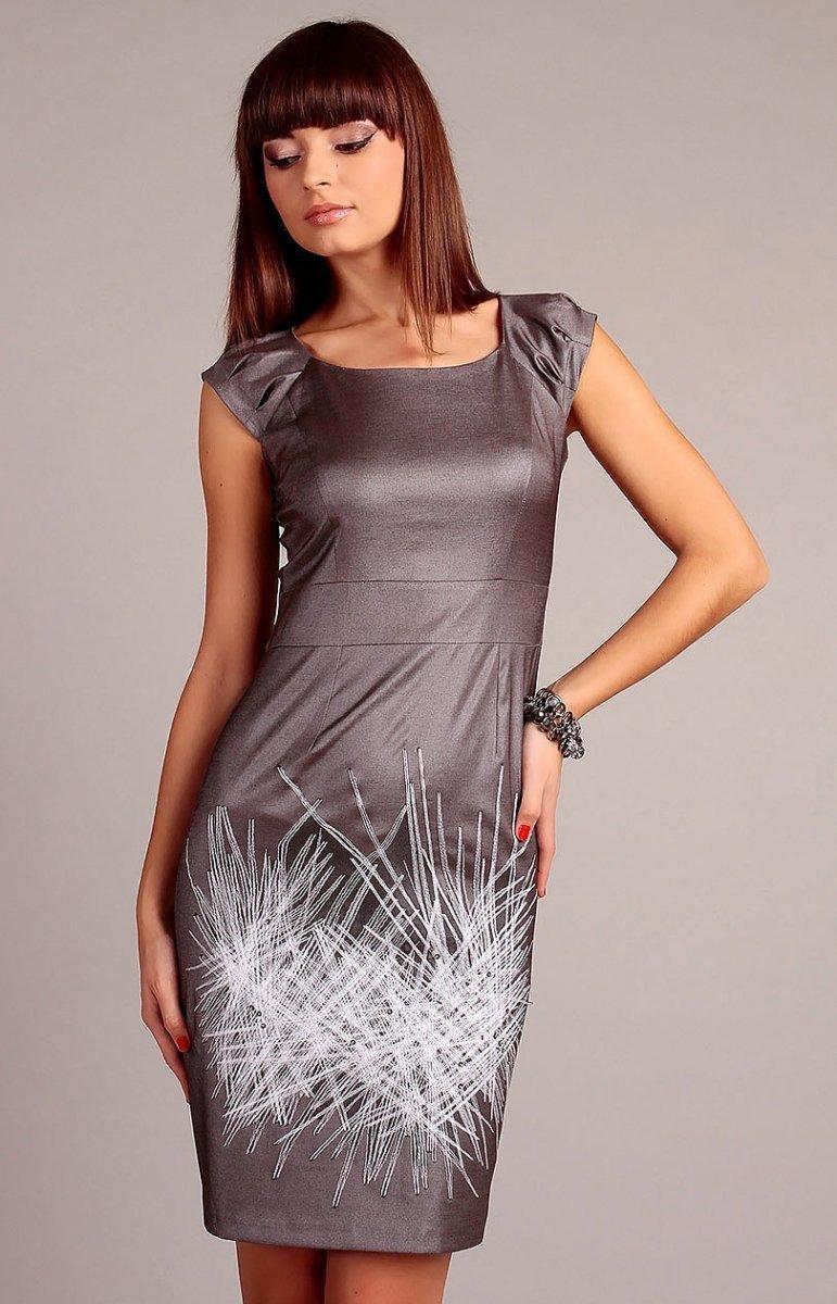 bb55969bb9 Vera Fashion Denise sukienka beżowa - Sukienki wizytowe Vera Fashion ...