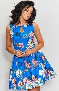 Roco 0203 sukienka niebieska