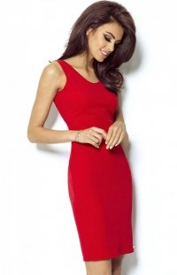 *Seksowna czerwona sukienka Linda