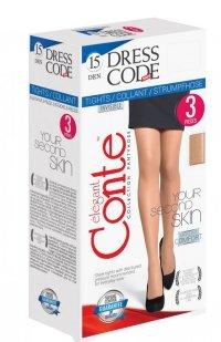 *Conte Dress Code 15 rajstopy 3sztuki